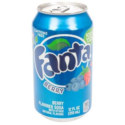Напиток Fanta berry жестяная банка 0.36 л