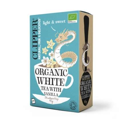 Чай белый Clipper с ванилью органик 26 пакетиков