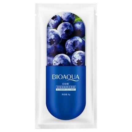 Маска для лица Bioaqua Blueberry Jelly Mask 8 г