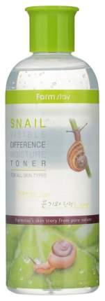 Тонер для лица FarmStay Visible Difference Moisture Toner Snail 350 мл