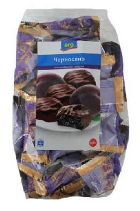 Конфеты Aro чернослив в глазури 500 г