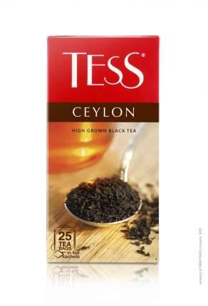 Чай черный Tess ceylon 25 пакетиков