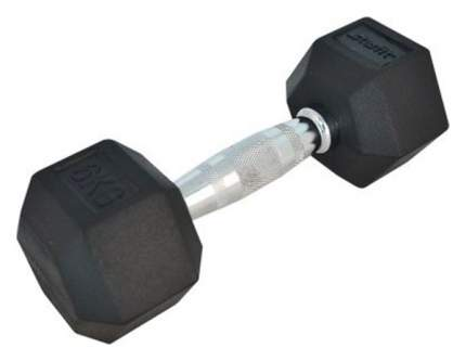 Гантель обрезиненная StarFit DB-301 6 кг