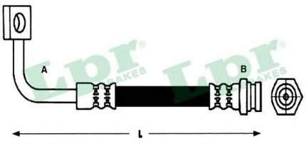 Тормозной шланг Lpr 6T48189