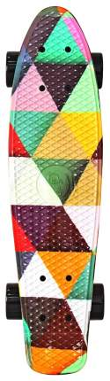 "Скейтборд Y-Scoo Fishskateboard Print 22"" 401G-T с сумкой Triddent"
