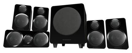Комплект акустики Wharfedale DX-2 5.1 HCP System Black Leather
