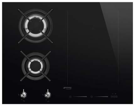 Встраиваемая варочная панель комбинированная Smeg PM3621WLD Black