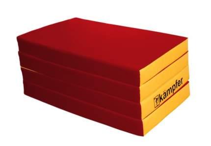 Детский спортивный мат Kampfer №7 (200 x 100 x 10 см) красно-желтый