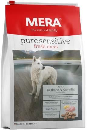 Сухой корм для собак MERA Pure Sensitive Adult, индейка и картофель, 1кг