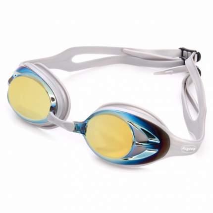 Очки для плавания Fashy Power Mirror 4156 серые/золотистые (33)