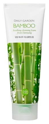 Очищающая пенка Holika Holika Daily Garden Damyang Bamboo Soothing Cleansing Foam