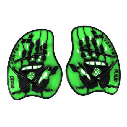 Лопатки для плавания Arena Vortex Evolution Hand Paddle 95232 зеленые (65) L