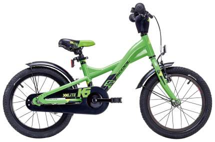 "Велосипед Scool XXLite 16 Alloy 2019 16"" зеленый"