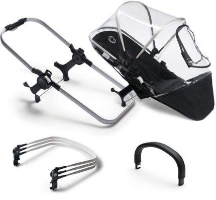 Набор для трансформации для второго ребенка Bugaboo black grey melange complete