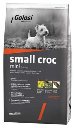 Сухой корм для собак Golosi Small Croc Mini, курица, рис, 12кг