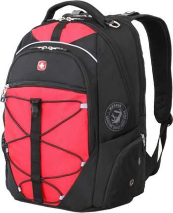 Рюкзак Wenger черный/красный 34 л