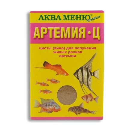 Корм для рыб Аква Меню Артемия-Ц, шарики, 30 г