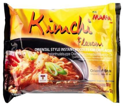 Лапша Mama тайская быстрого приготовления со вкусом ким чи 90 г