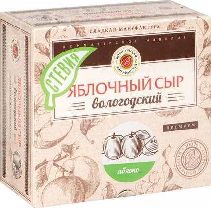 Яблочный сыр вологодский Вологодская мануфактура премиум со стевией 300 г
