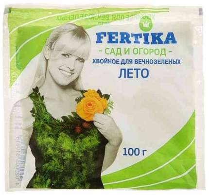 Минеральное удобрение комплексное Фертика 139770 Хвойное для вечнозеленых 0,1 кг