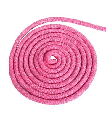 Скакалка гимнастическая Jabb AB251 розовая 300 см