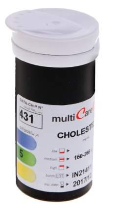 Тест-полоски MultiCare-in на холестерин 5 шт.