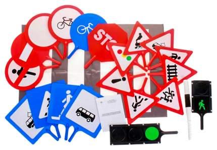 Игровой набор Совтехстром Дорожные знаки 22 предмета