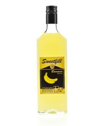 Сироп Sweetfill банан стекло 500 мл