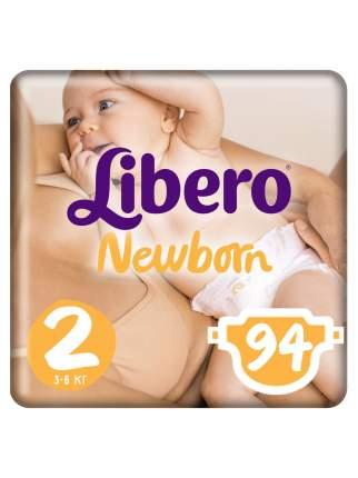 Подгузники для новорожденных Libero Newborn Size 2 (3-6кг), 94 шт.