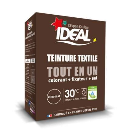 Краска для одежды и тканей Ideal MAXI Все в Одном коричневая, 350 г