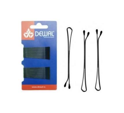 Аксессуар для волос Dewal SLN50P-1/24 50 мм Черный 24 шт