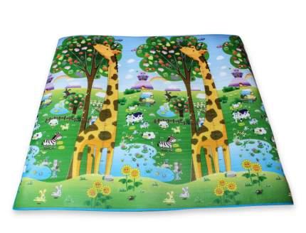 Напольное покрытие BabyPol Цифры и счет с Жирафами размер 20*18