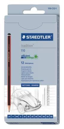 Карандаши чернографитные Staedtler Tradition 110C12-1