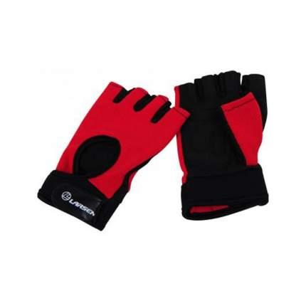 Перчатки для фитнеса Larsen 16-8344 черно-розовые XS