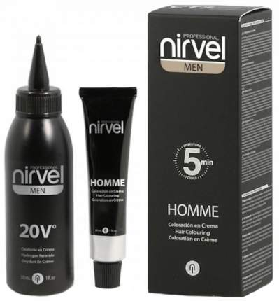 Краска для волос Nirvel CT-7 Светло-каштановый Light brown 30 мл
