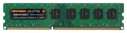 Оперативная память QUMO DDR3 QUM3U-8G1600C11 8Гб