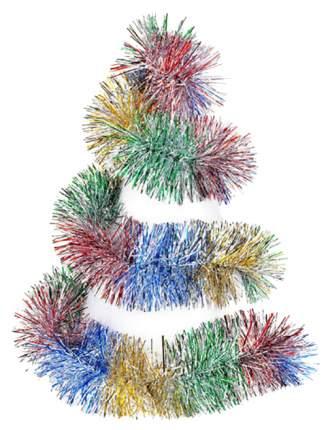 Мишура Snowmen Е6181 Разноцветный