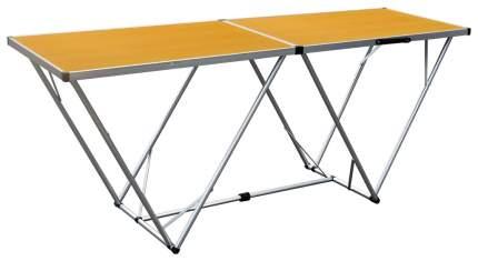 Туристический стол Greenell FT-10 95800-000-00 коричневый/серебристый