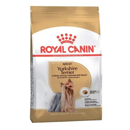 Сухой корм для собак ROYAL CANIN Yorkshire Terrier Adult, птица, 7.5кг