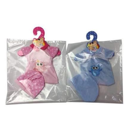 НАША ИГРУШКА Комплект одежды для куклы Совенок, 2 предмета YLC35D