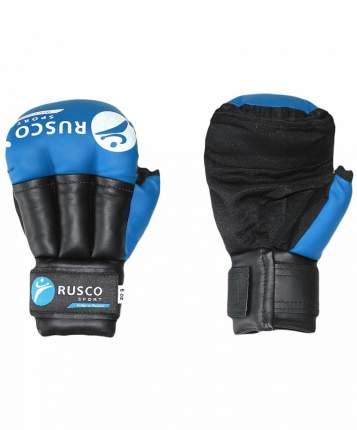 Перчатки для рукопашного боя Rusco Sport, к/з, синие (12)