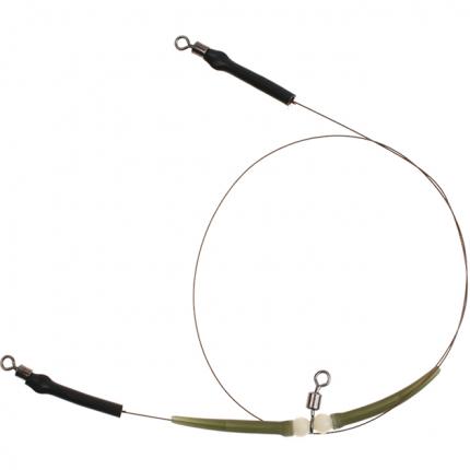 Поводок Mikado ZG11-029 2 шт. с 3 вертлюжками для тирольской палочки