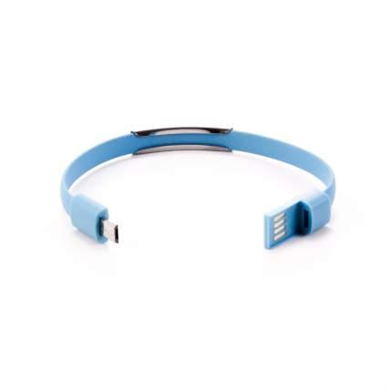 Кабель-браслет Gmini GM-WDC-300BL Lightning Blue