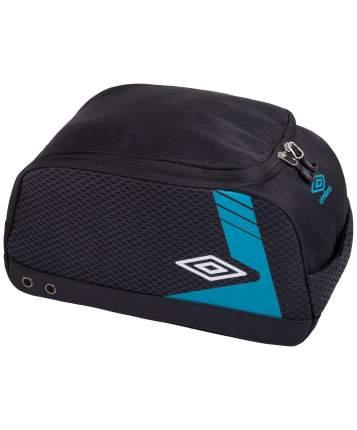 Сумка для обуви Umbro Medusa Bootbag, черная/белая/голубая