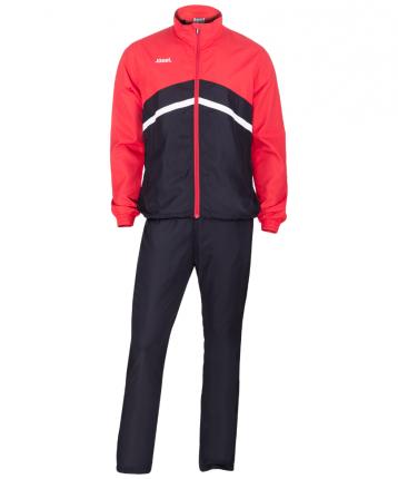 Комплект спортивной формы Jogel JLS-4401-621, черный/красный/белый, S INT