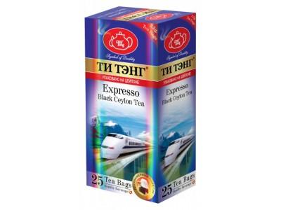 Чай черный в пакетиках для чашки Ти Тэнг Expresso 25*2.5 г