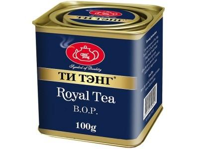 Чай весовой черный Ти Тэнг Royal Tea B.O.P. 100 г