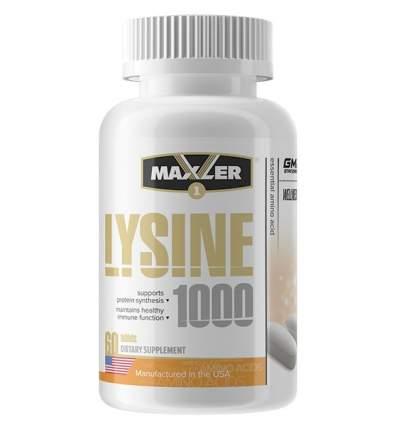 Maxler Usa Maxler Lysine 1000 60 таб. 60 таблеток