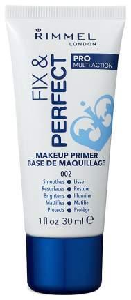 Основа для макияжа Rimmel Fix And Perfect Makeup Primer Base De Maquillage 30 мл