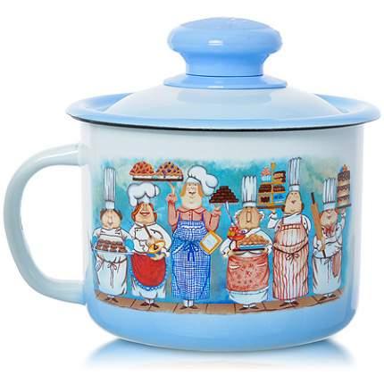 Кружка ОАО «Лысьвенский завод эмалированной посуды» 71442 1000 мл